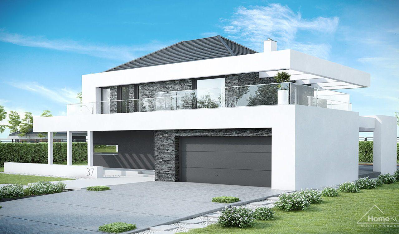 Projekt Domu Homekoncept 37 Architekt Allplans Rzeszow Przemysl